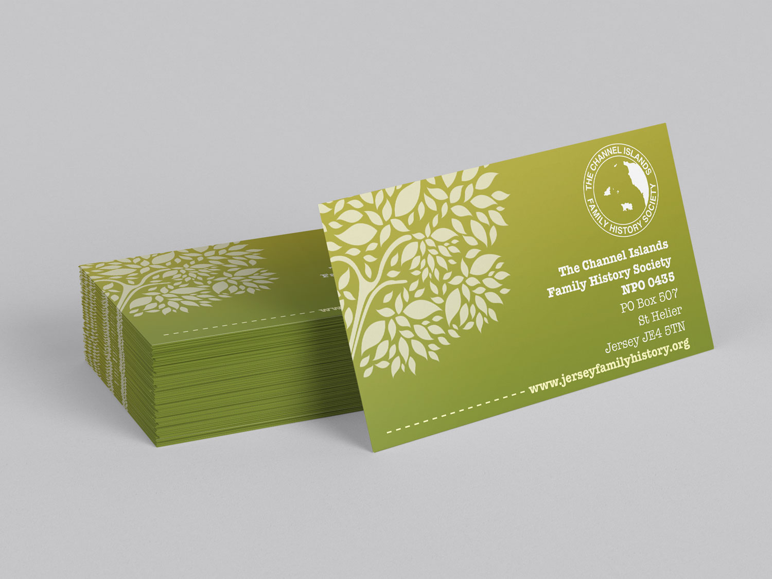 Traction Design - Business Cards for Jersey Company
