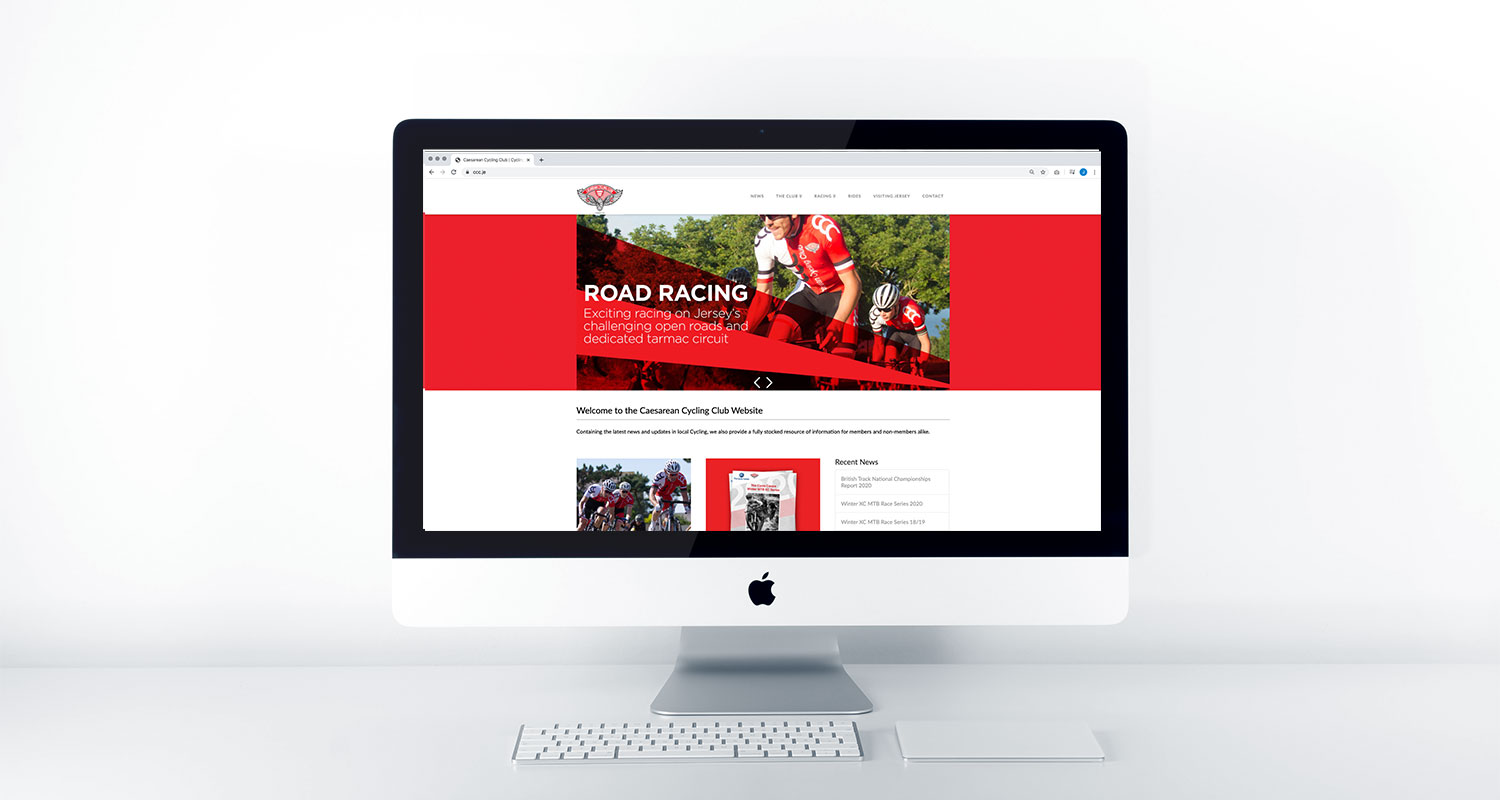 Traction Design - Website for Jersey Company