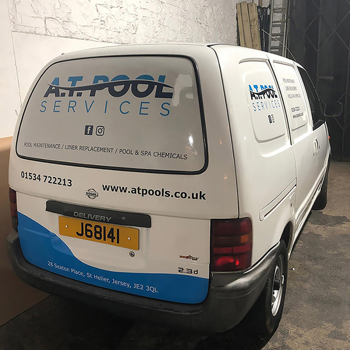 Traction Design - Van Signage for Jersey Company